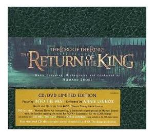 Howard Shore: The Lord Of The Rings - The Return Of The King (CD + DVD) - Bild 1