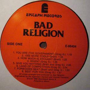 Bad Religion: Suffer (LP) - Bild 3