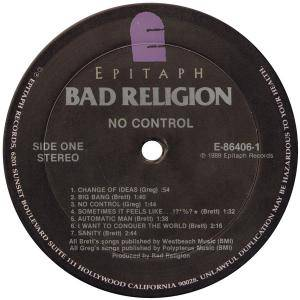 Bad Religion: No Control (LP) - Bild 5