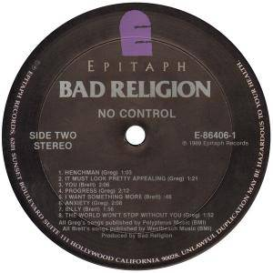 Bad Religion: No Control (LP) - Bild 6
