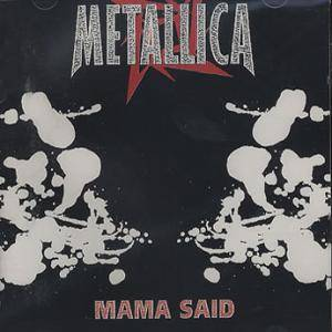 Metallica: Mama Said - Cover