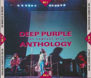 Deep Purple: Anthology - Cover