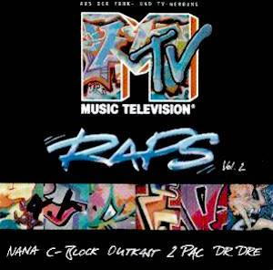 Cover - Rappin' 4-Tay Feat. The Spinners: MTV Raps Vol. 2