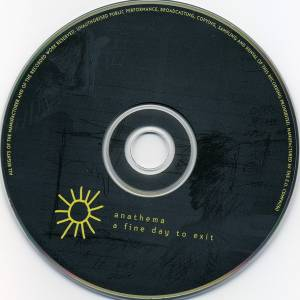 Anathema: A Fine Day To Exit (CD) - Bild 3