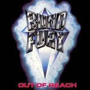 Blind Fury: Out Of Reach - Cover