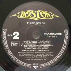 Boston: Third Stage (LP) - Bild 7