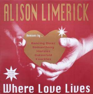 Alison Limerick: Where Love Lives - Cover