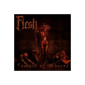 Flesh: Temple Of Whores - Cover
