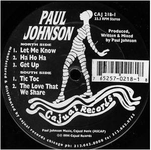 Cover - Paul Johnson: Let Me Know