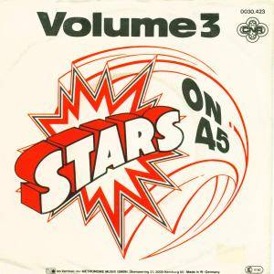 Stars On 45: Volume 3 - Cover