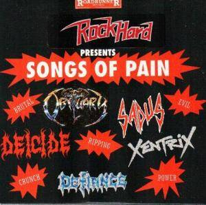 Cover - Defiance: Rock Hard - Songs Of Pain