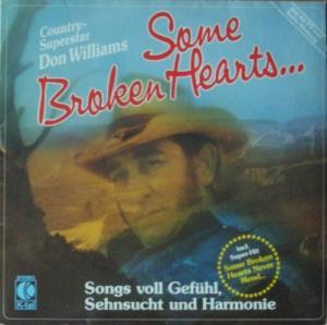 Don Williams: Some Broken Hearts... - Cover