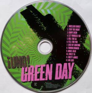 Green Day: ¡Uno! (CD) - Bild 3