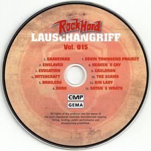 Rock Hard - Lauschangriff Vol. 015 (CD) - Bild 3