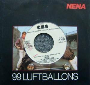 Nena: 99 Luftballons / Tell Her About It - Cover
