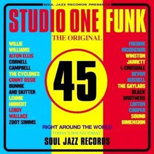 Cover - Devon Russell: Studio One Funk