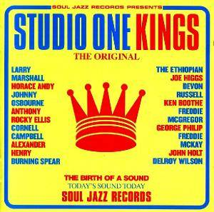 Cover - Devon Russell: Studio One Kings