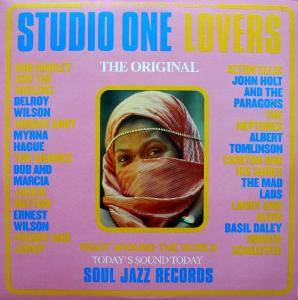Cover - Ernest Wilson: Studio One Lovers