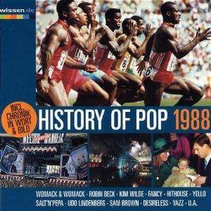 History Of Pop 1988 - Cover