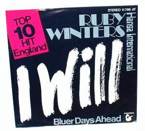 Cover - Ruby Winters: I Will