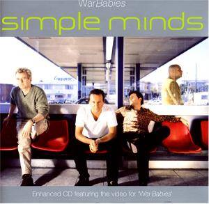 Simple Minds: War Babies - Cover