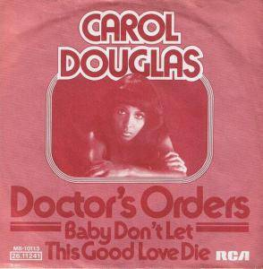 Cover - Carol Douglas: Doctor's Orders