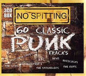 No Spitting - 60 Classic Punk Tracks - Cover