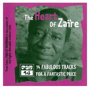 Cover - Tabu Ley Rochereau: Heart Of Zaire, The