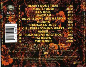 Aerosmith: Permanent Vacation (CD) - Bild 4