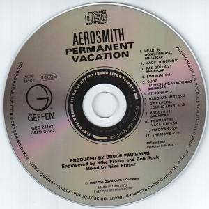 Aerosmith: Permanent Vacation (CD) - Bild 5