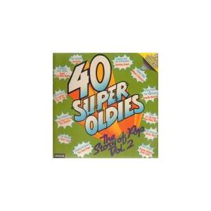 Cover - Applejacks, The: 40 Super Oldies - The Story Of Pop Vol. 2