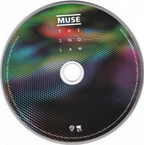 Muse: The 2nd Law - CD, 2012, Digisleeve
