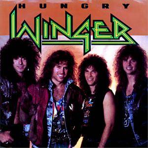 Cover - Winger: Hungry