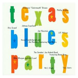Cover - U. P. Wilson: Texas Blues Party