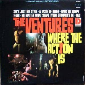 The Ventures: Where The Action Is! - Cover