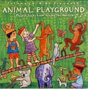 Cover - Be Good Tanyas, The: Animal Playground