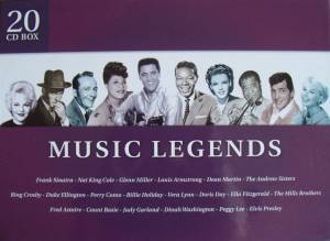 Music Legends - Cover