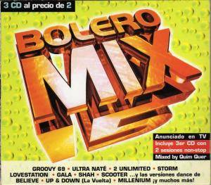 Cover - Lovestation: Bolero Mix 15