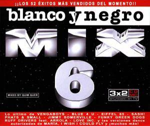 Cover - Cartoons: Blanco Y Negro Mix 6