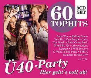 Cover - Taco: 60 Top Hits - Ü40 Party - Hier Geht's Voll Ab