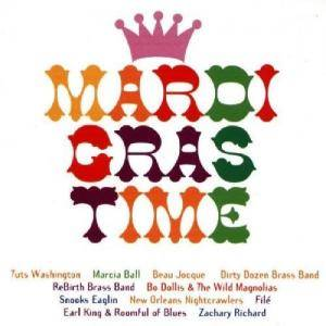 Mardi Gras Time - Cover