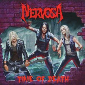 Nervosa: Time Of Death - Cover