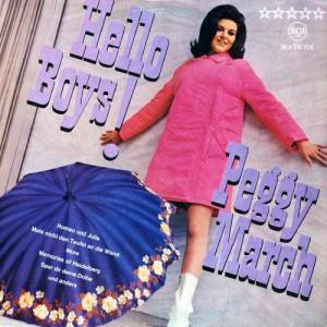Cover - Peggy March: Hello Boys!