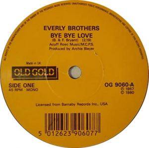 The Everly Brothers: Bye Bye Love - Cover