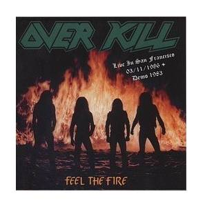 Cover - Overkill: Live At The Stone, San Francisco,Ca, 03-11-1986 / Demo 1983