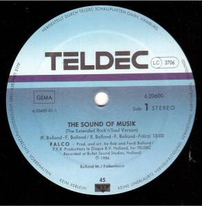 "Falco: The Sound Of Musik (12"") - Bild 3"