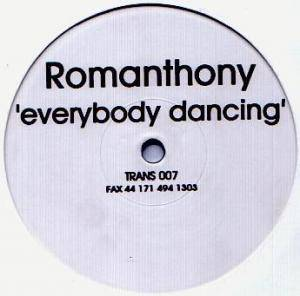 Cover - Romanthony: Everybody Dancing