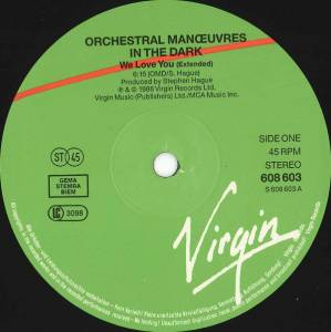 "Orchestral Manoeuvres In The Dark: We Love You (12"") - Bild 3"