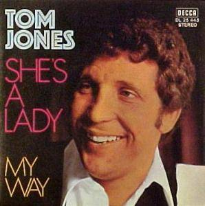 Tom Jones: She's A Lady - Cover