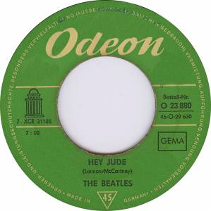 "The Beatles: Hey Jude (7"") - Bild 2"
